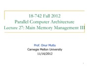memory and managing systems