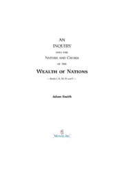 Wealth of Nations Smith 1776