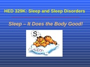 329K - Sleep Lecture
