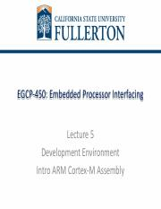EGCP_450_L1 pdf - EGCP-450 Embedded Processor Interfacing Lecture 1