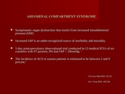 ABDOMINAL COMPARTMENT SYNDROME (1)