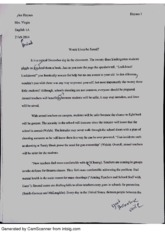Research Paper- Arming Teachers