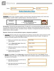 Moles Activity B and C.pdf - Name Anthony Bui Date Student ...