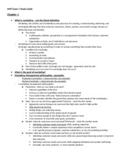 MKT Exam 1 Study Guide
