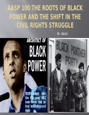 AASP 100 The Roots of Black Power.pptx
