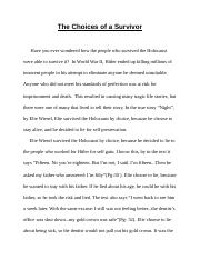 The Choices Of A Survivor/Layson,Anne,P1.docx