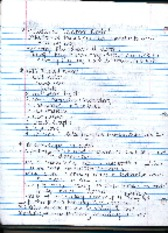 Relational databae notes