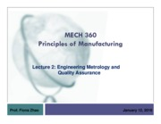 lecture 2 - engineering metrology and quality assurance and testing