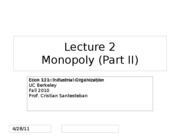 Lecture2_Monopoly_Econ121_Fall2010