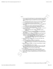 BA 331 Actual Exam Questions for Tests 1-3