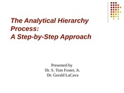 week_13&14_step by step approach to AHP