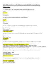 GEO 101 Study Guide for Test # 4 (1).docx