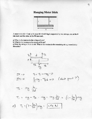 Online Homework 9 Solutions