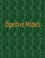 Digestive Models REVISED SP 11-1