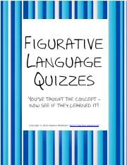 FigurativeLanguageQuiz