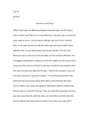 Descriptive essay on poverty
