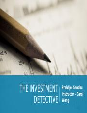 The Investment Detective -ps.pptx