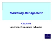 Marketing  Management chapt4_09
