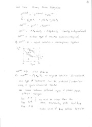 Thermodynamic properties lectures 4&5