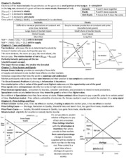 Cheat Sheet (Exam 2)