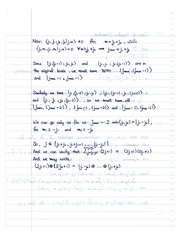 CHEM 400 Clesch Gordon Coefficients Notes