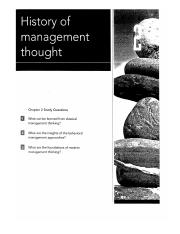 Chapter 2 _History of Management