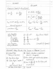 Formula Sheet 2- Axial Loads