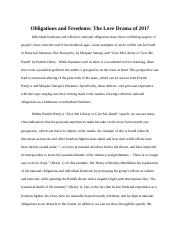 Obligations and Freedoms Essay.docx