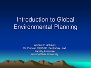 Presentation Class 12 Intro to Global Environmental Issues