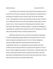 Atonement Essay