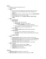 Midterm #2 Study Guide