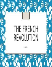 5.06 The French Revolution PP