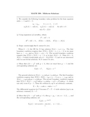 MATH 338 Midterm Solutions