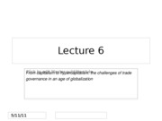 Lecture 6_Global Production and Trade