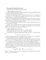 sample midterm 2b solution