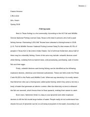Fishing Laws criminal justice essay.docx
