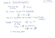 2nd Order Equations