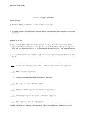 Effective Managers Worksheet.docx
