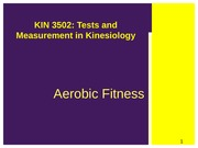 3502_Aerobic_Testing_Lecture