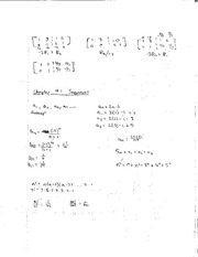 Class Notes Sequences and Problems