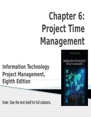 6- Project Time Management