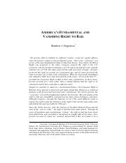 America's Fundamental and Vanishing Right to Bail.pdf