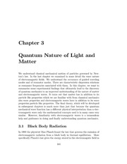 Quantum Nature of Light and Matter notes