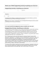 Week one IT200 Supporting Activity Anything-as-a-Service_copy.docx