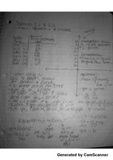 MATH 95 Section 2.1 & 2.2 linear equations and models Notes