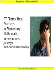 wright_SSTAGE_Math_Elementary.ppt