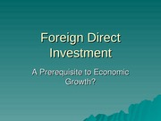 brad-faber-Outline Foreign Direct Investment