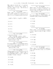 15. Solutions III - Stoichiometry