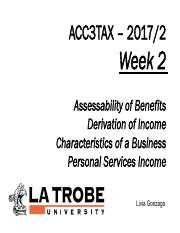 ACC3TAX S2 2017 Week 2 - Hobby v Business, Derivation, PSI.pdf