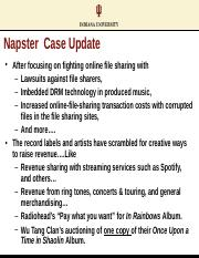 Topic_2_Napster Case Update
